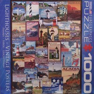 Lighthouse Vintage Puzzle